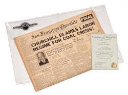 Life Milestones Original Newspaper Set