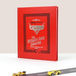 Unique Gifts for 3 Year Old:Personalized Disney Cars Collection Book