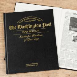Custom Date Newspaper Book