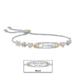 Personalized Daughter Bracelet