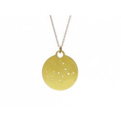 Personalized Christmas Gifts for Sister:Zodiac Constellation Necklace