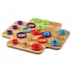Unique Christmas Gifts for Kids:Multi-Level Tic Tac Toe Game