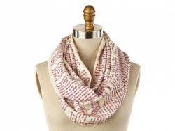 STORIARTS: Book Themed Infinity Scarf -..