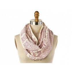 Christmas Gifts for Women:Book Themed Scarfs