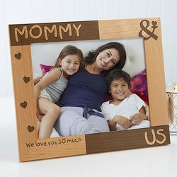 Personalized Mommy & Me Picture Frames - 8x10