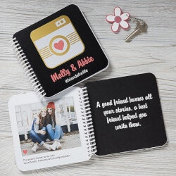 Gifts Under $25:Friends Forever Soft Cover Personalized Mini..