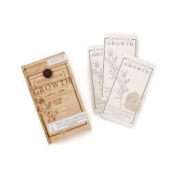 Plantable Mindfulness Cards