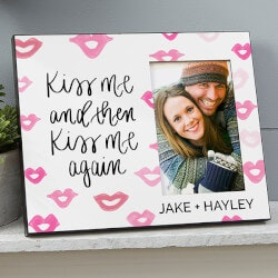 Gifts for Wife:Kiss Me And Then Kiss Me Again Personalized..