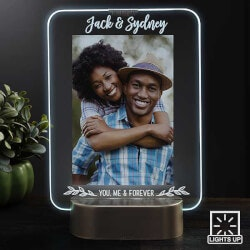 Anniversary Gifts for Girlfriend:Personalized LED Picture Frames