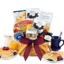 Valentines Day Breakfast In Bed Gift Basket