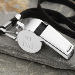 Personalized Gifts for Dad:#1 Dad Personalized Whistle Gift For Dad