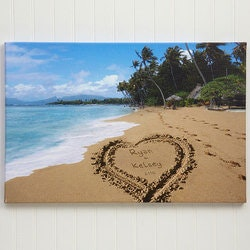 Our Paradise Island 16x24 Personalized..