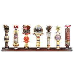Budweiser Vintage-Style Sculpted Tap Handles..