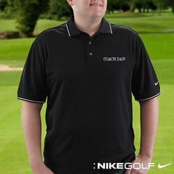 Personalized Polo Golf Shirts - Nike Dri-FIT..