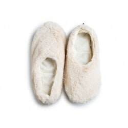 Christmas Gifts for Mom:Aromatherapy Heatable Slippers