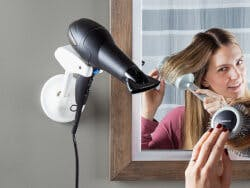 Bestie Brands: Hands-Free Blow Dryer Holder