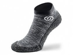 SKINNERS: Barefoot Sock Shoes - Granite Grey..
