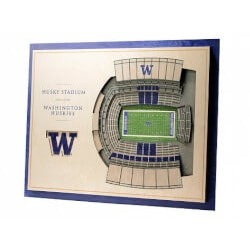 Unusual Birthday Gifts for Brother:Wooden Stadium Wall Art