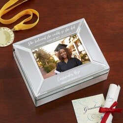High School Graduation Gifts:Engraved Graduation Photo Box