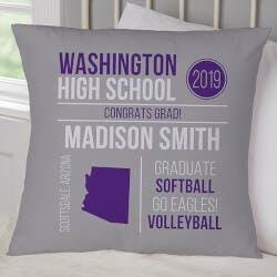Graduation Personalized Pillow