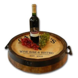 Best Gifts of 2019:Personalized Quarter Barrel Serving Tray