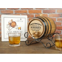 Birthday Gifts for Men:Personalized Whiskey Making Kit