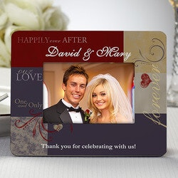 Personalized Wedding Favor Mini Picture..