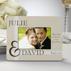 Wedding Gifts:Personalized Picture Frame Wedding Favors -..