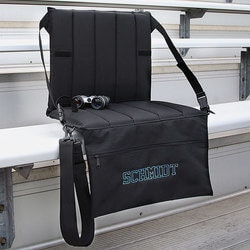 40th Birthday Gifts for Friends:Personalized Padded Bleacher Seat