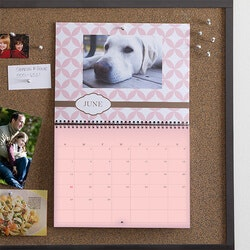 Unique Gifts (Under $25):Personalized Photo Wall Calendar - Through..