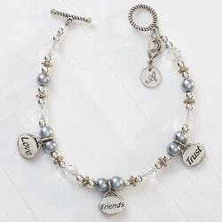 Personalized Charm Bracelets - Love,..