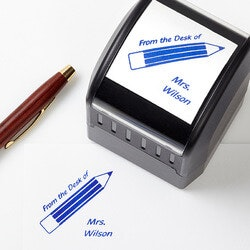 Gifts for Teachers:Personalized Teacher Stamps - Teacher Fun