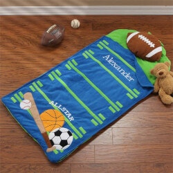 Personalized Gifts for Boys:Personalized Nap Mat For Kids - All Star..