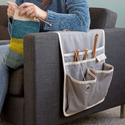 Couch Arm Knitting Caddy