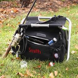 Personalized Gifts for Husband:Fishing And Camping Cooler Chair