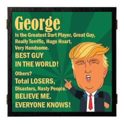 Trump Dartboard & Cabinet