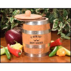 Make Your Hot Sauce Barrel