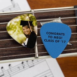 Personalized Graduation Photo Guitar Picks -..
