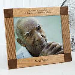 Engraved Picture Frames - Inspiring Quotes -..
