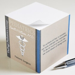 Gifts for Doctors:Personalized Note Pads For Doctors - Medical..
