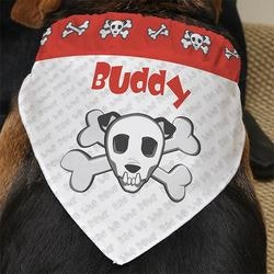 Gifts for Dog Lovers:Personalized Dog Bandanas - Bad To The Bone