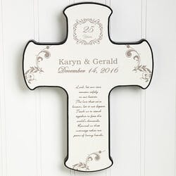 Personalized Our Anniversary Blessing Wall..