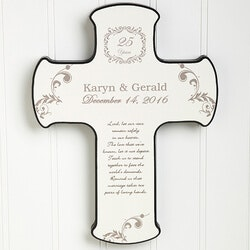 Anniversary Gifts:Personalized Our Anniversary Blessing Wall..