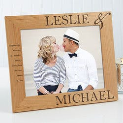 Personalized Picture Frames - 8x10 - The..