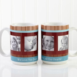 Personalized Large Photo Coffee Mugs For Him..