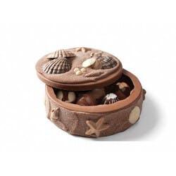 DeBrand Chocolates: Seashell Art Box..