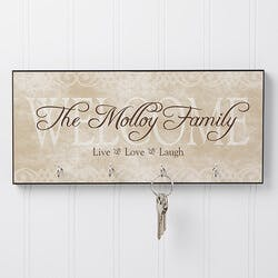 Personalized Key Racks