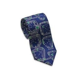 Demolished Ballparks Necktie