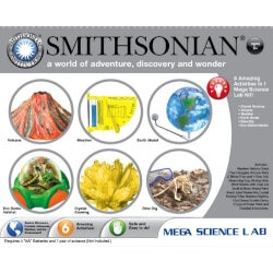 Gifts for 10 Year Old Boys:Smithsonian Mega Science Lab