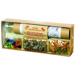 Gifts for 10 Year Old Boys:Nature Kaleidoscope Kit